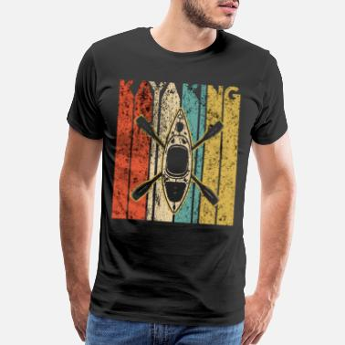 Kayaking Idea Kayaking Kayak Vintage kayak kayaking - Men's Premium T-Shirt