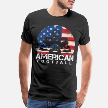 Football Team Football USA Footballer Team Football Team - Men's Premium T-Shirt