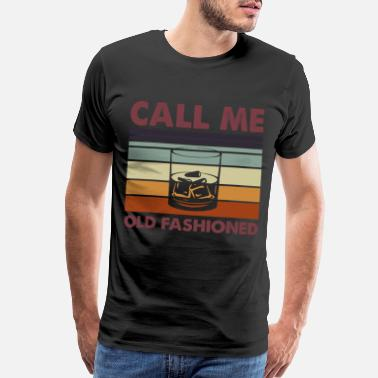 Call Pretty call me old fashioned gift - Men's Premium T-Shirt