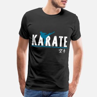 Brick karate gift martial arts Japan senpai - Men's Premium T-Shirt