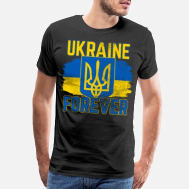 Lucky Ukraine Forever Gift Idea - Men's Premium T-Shirt