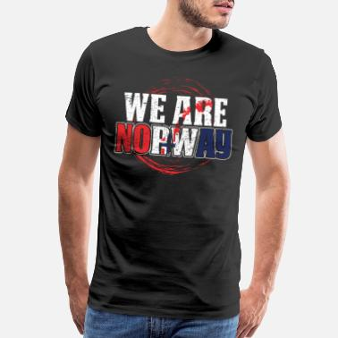 Norge We Are Norway Gift Idea - Men's Premium T-Shirt