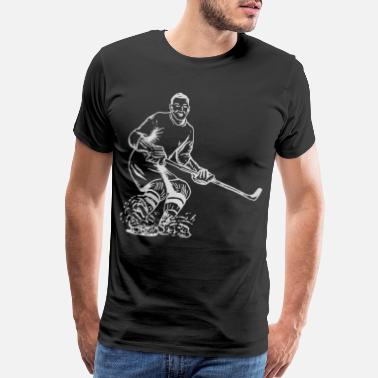 Ski Mask Hockey - Men's Premium T-Shirt