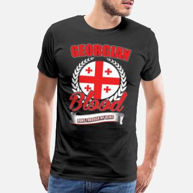 Georgia Home Georgian Blood - Men's Premium T-Shirt