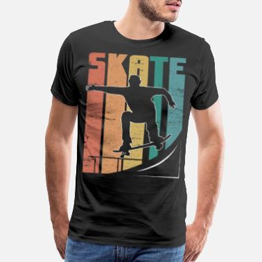 Accidents Skateboard Pipe Sun Crew Ollie Cool Road - Men's Premium T-Shirt