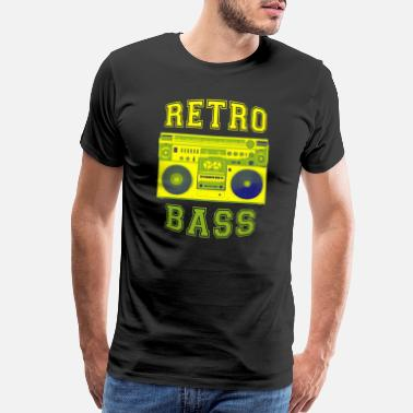 Ghetto Ghetto Blaster Retro Cassette Recorder - Men's Premium T-Shirt