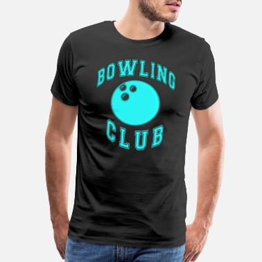 Club Bowling club bowling ball - Men's Premium T-Shirt
