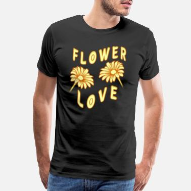 Marguerite Beautiful flowers Flower Love - Men's Premium T-Shirt