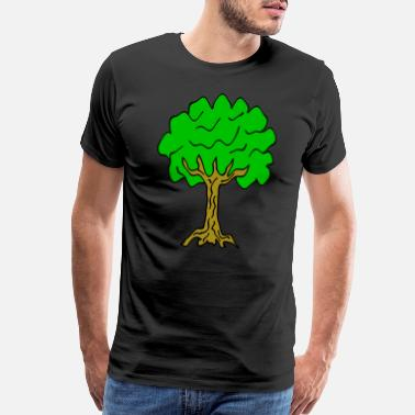 Linden Beautiful nature. Tree for environment and linden - Men's Premium T-Shirt
