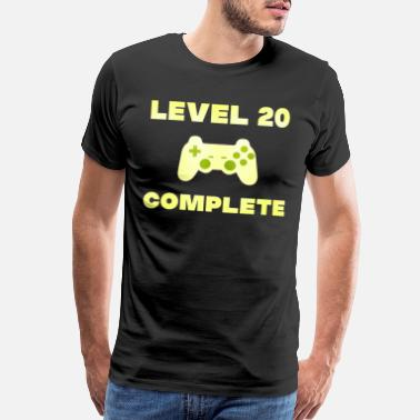 Pc 20th birthday gaming gamer gift gamer - Men's Premium T-Shirt