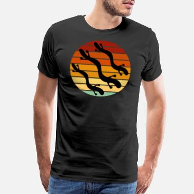 Diameter Olm Vintage Olms Fan Salamanders Animal - Men's Premium T-Shirt