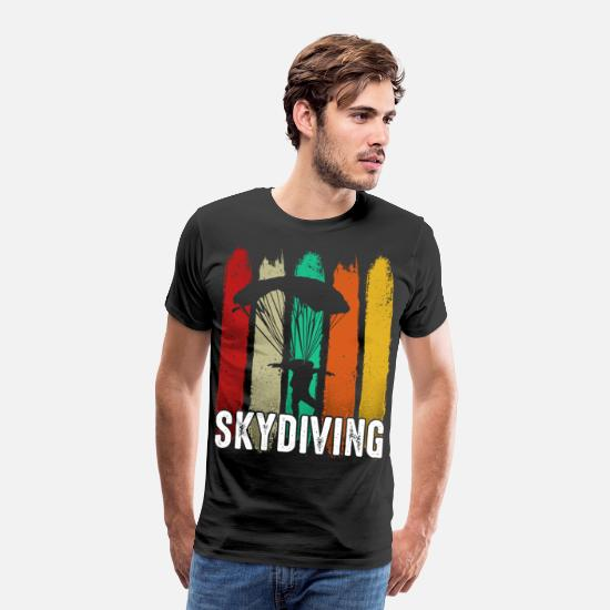 Skydiving T-Shirts - Skydiving - Men's Premium T-Shirt black
