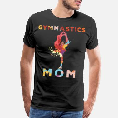 Upside Cheerleading and Gymnastics Flipping - Men's Premium T-Shirt