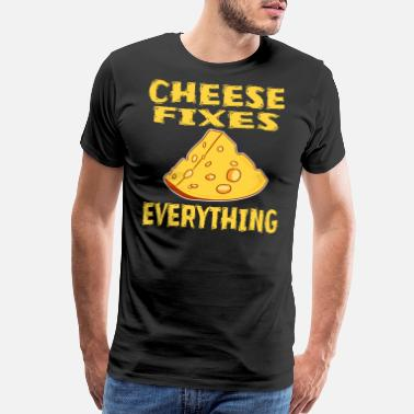 Butters Funny Cheese TShirt for people who are addicted - Men's Premium T-Shirt