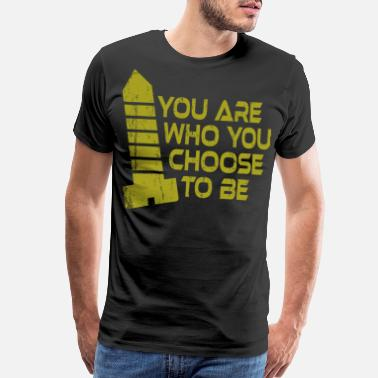 Embracement A Nice Choosing Theme Tee For You Who Chooses - Men's Premium T-Shirt