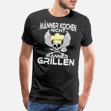 Roasted Chicken A Nice Grilling Tee For Griller Saying Manner - Men's Premium T-Shirt