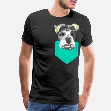 Poop Dog Lover? Here's a cute tshirt design with an - Men's Premium T-Shirt