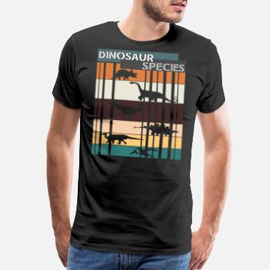 Rough Unique Dinosaur Tee For Animal Lovers Dinosaur - Men's Premium T-Shirt
