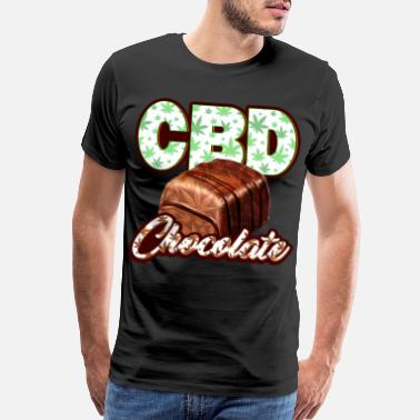 Cbd CBD Chocolate - Men's Premium T-Shirt