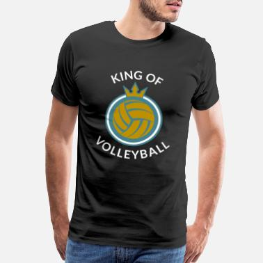 Net Volleyball - Men's Premium T-Shirt