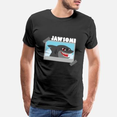 Jaws Jawsome - Premium Design - Men's Premium T-Shirt