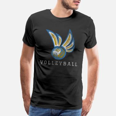 Volleyball Team Volleyball Sport - Men's Premium T-Shirt
