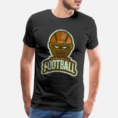 Punt American Football Sport Fitness Gift Idea - Men's Premium T-Shirt