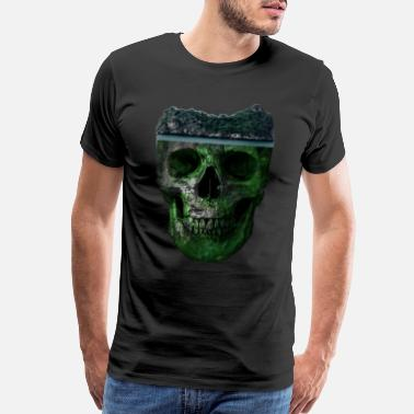 Mechanics Wife Skull head - Men's Premium T-Shirt