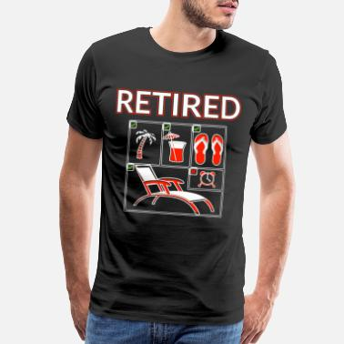 Alarm Clock Retired Gift - Men's Premium T-Shirt