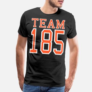 Age Number 185 NR. 185 - Men's Premium T-Shirt