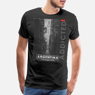 Capital Of Argentina Argentina - Men's Premium T-Shirt