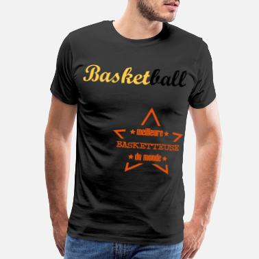 Athletic Basketball Basket ball Basket-Ball Game Sport - Men's Premium T-Shirt