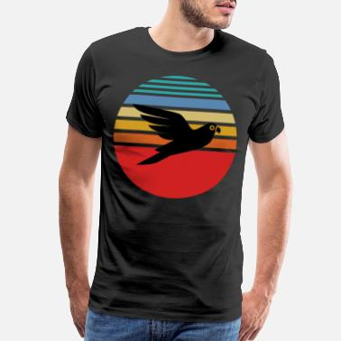 Budgie Budgie, Budgie colorful bird, Budgie vintage - Men's Premium T-Shirt
