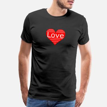 Meeting Family - Friends - Life - Power - Love - Heart Fun - Men's Premium T-Shirt