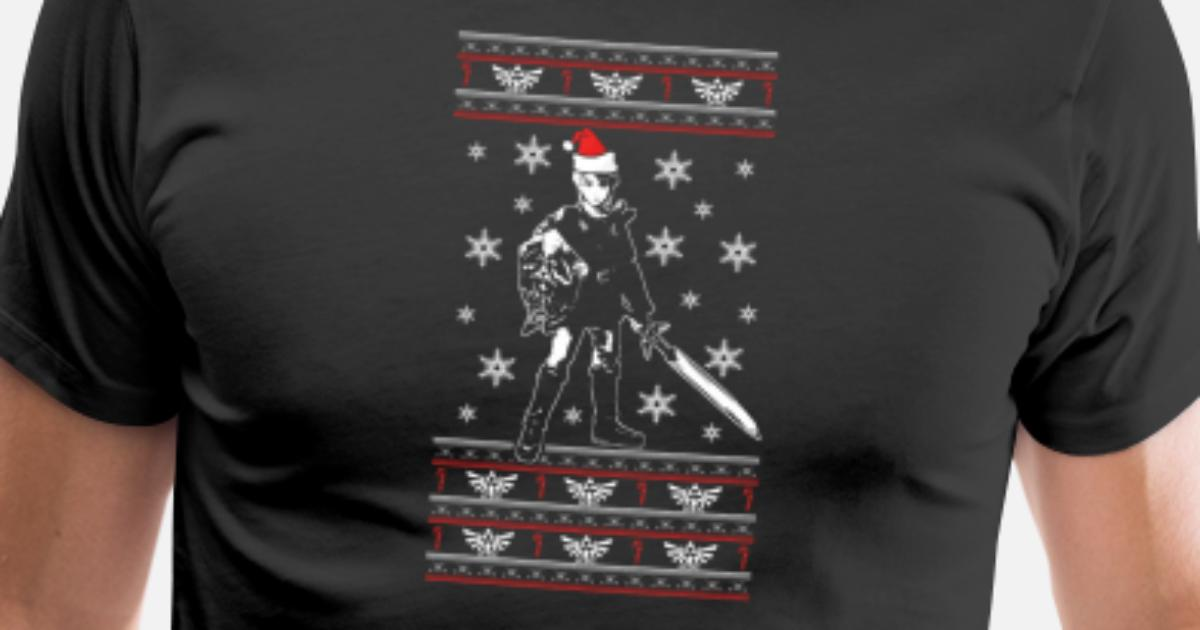 Ugly Christmas sweater for zelda lover by | Spreadshirt