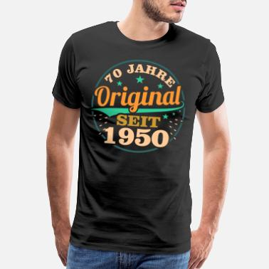 50 Years Old 70th Birthday - Men's Premium T-Shirt