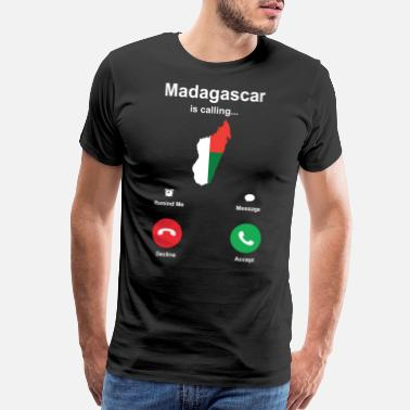 Madagascar Madagascar Africa Shirt Gift Idea - Men's Premium T-Shirt