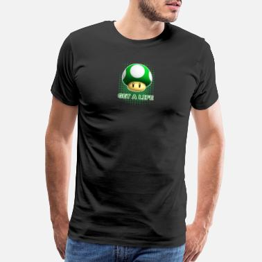 Strange Gaming Get A Life - Men's Premium T-Shirt