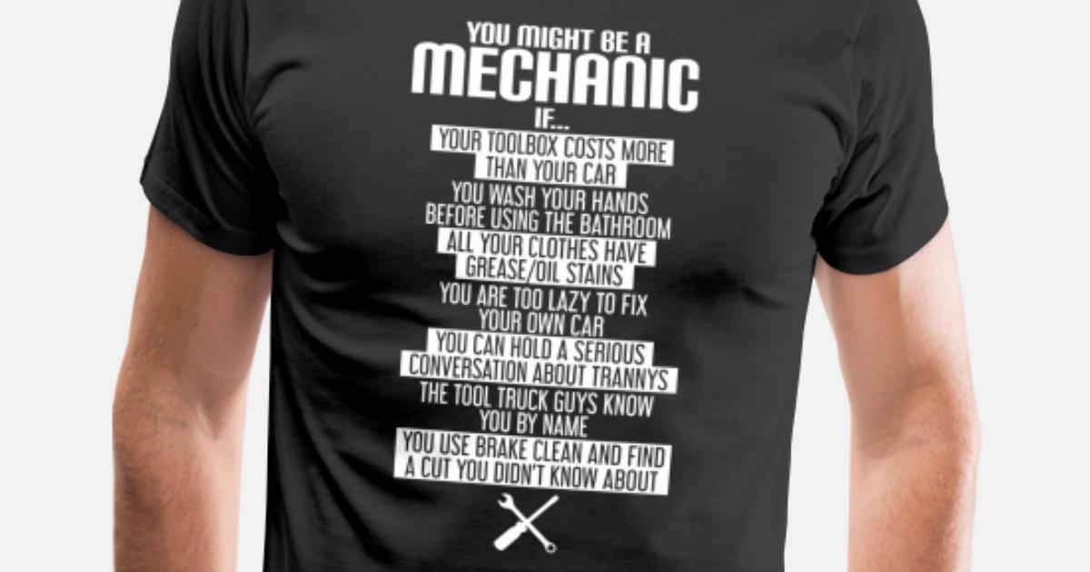 Men/_s You Might be a Mechanic If Unisex Sweatshirt tee