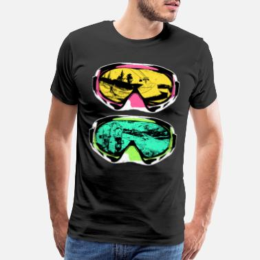 Freestyle Snowboard - Men's Premium T-Shirt