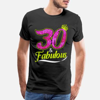 30 Thirty 30th Birthday - Men's Premium T-Shirt