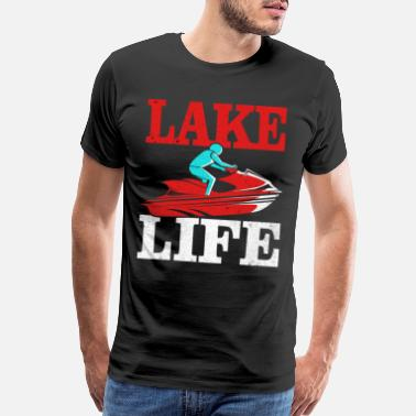 Freerider Jet Ski - Men's Premium T-Shirt