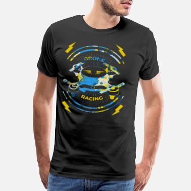 Digital Camera Drone Racing FPV Gift - Men's Premium T-Shirt