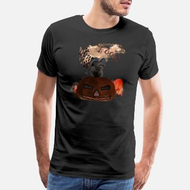 Tombstone Halloween Pony - Men's Premium T-Shirt