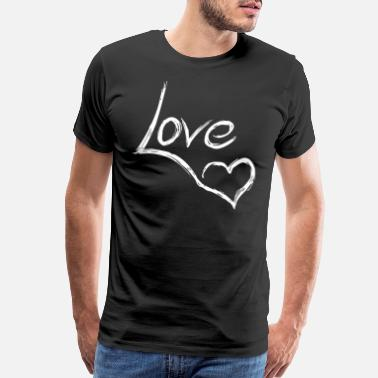 Passion LOVE #HOT #SUMMER #BEACH - Men's Premium T-Shirt