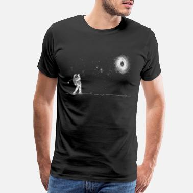 Ast Black hole in one and ast - Men's Premium T-Shirt
