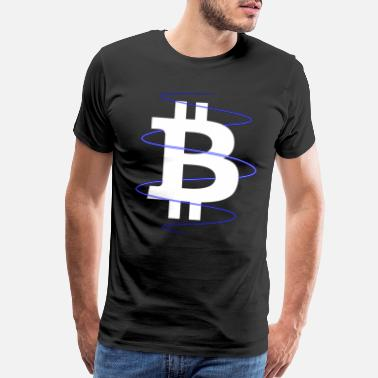 Uv BITCOIN - Men's Premium T-Shirt