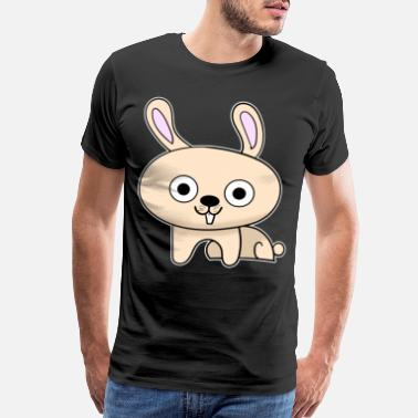 Kids Picture Sweet rabbit kids picture - Men's Premium T-Shirt