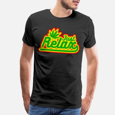 Reggaeton just relax - Men's Premium T-Shirt