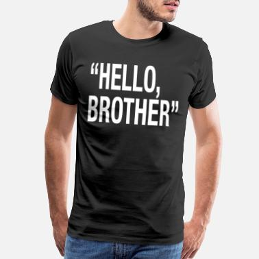Solidarity Hello Brother Christchurch pray for new zealand - Men's Premium T-Shirt